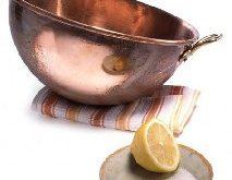 بهترین روش برای برق انداختن ظروف مسی